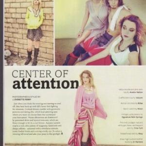 stylists fashion shoot